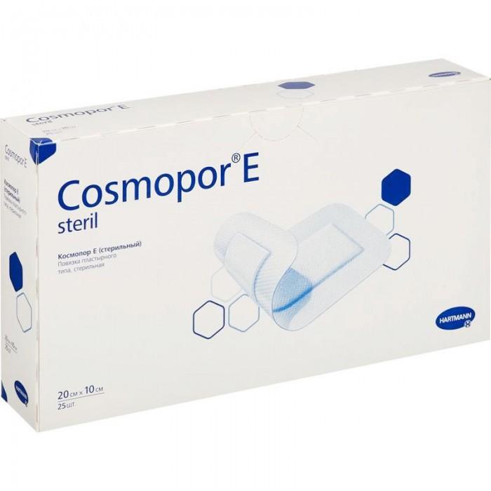 Космопор Е стерил пластырная повязка 20 х 10 см, 25 шт.