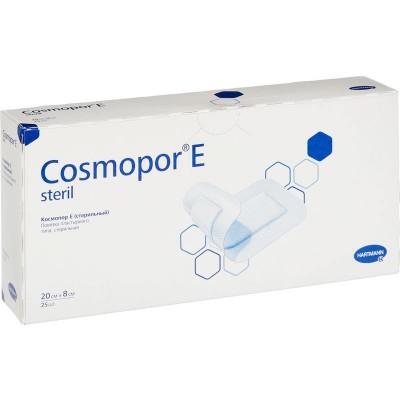 Космопор Е стерил пластырная повязка 20 х 8 см, 25 шт. (фотография)