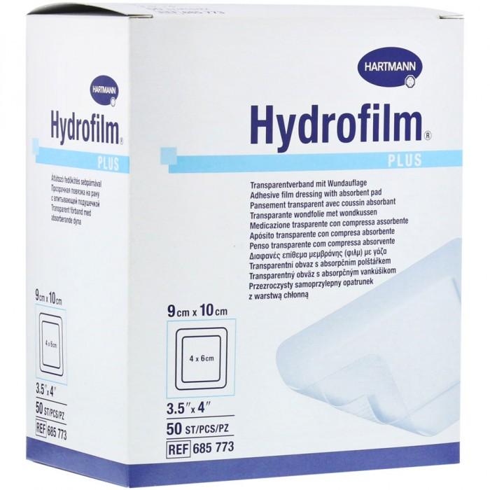 Гидрофилм Плюс пленочная повязка 9 х 10 см, 50 шт.