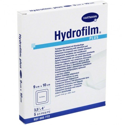 Гидрофилм Плюс пленочная повязка 9 х 10 см, 5 шт. (фотография)