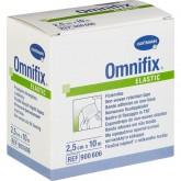 Омнификс эластик фиксирующий пластырь 10 м х 2,5 см, 2 шт.