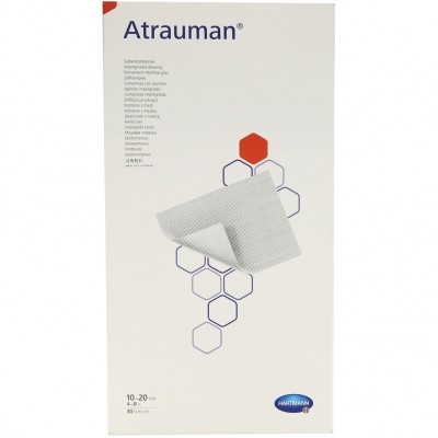 Атрауман мазевая повязка 10 х 20 см, 30 шт. (фотография)