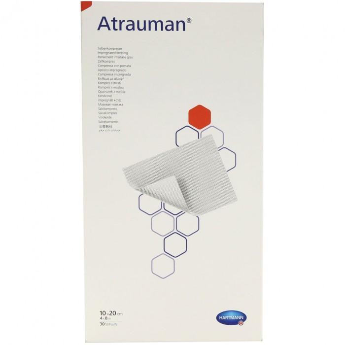 Атрауман мазевая повязка 10 х 20 см, 30 шт.