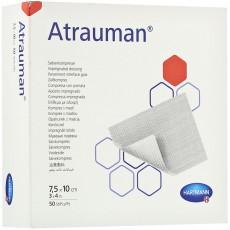 Атрауман мазевая повязка 7,5 х 10 см, 50 шт.