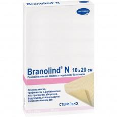Бранолинд Н с перуанским бальзамом мазевая повязка 10 х 20 см, 30 шт.