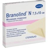 Мазевая повязка Бранолинд Н с перуанским бальзамом 7,5 х 10 см, 30 шт.