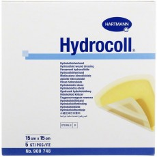 Гидроколл гидроколлоидная повязка 15 х 15 см, 5 шт.