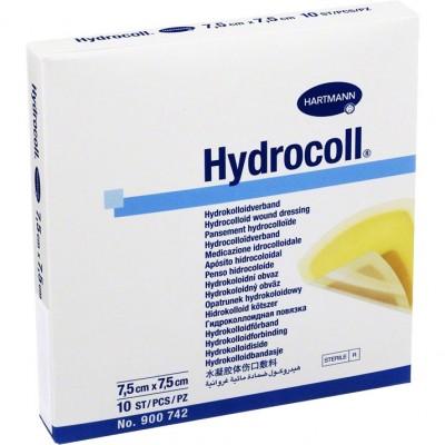Гидроколл гидроколлоидная повязка 7,5 х 7,5 см, 10 шт. (фотография)