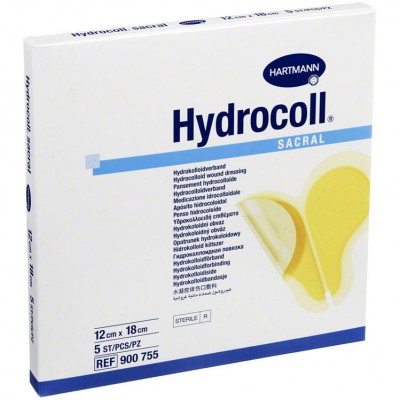 Гидроколл сакрал гидроколлоидная повязка на крестец, 5 шт. (фотография)