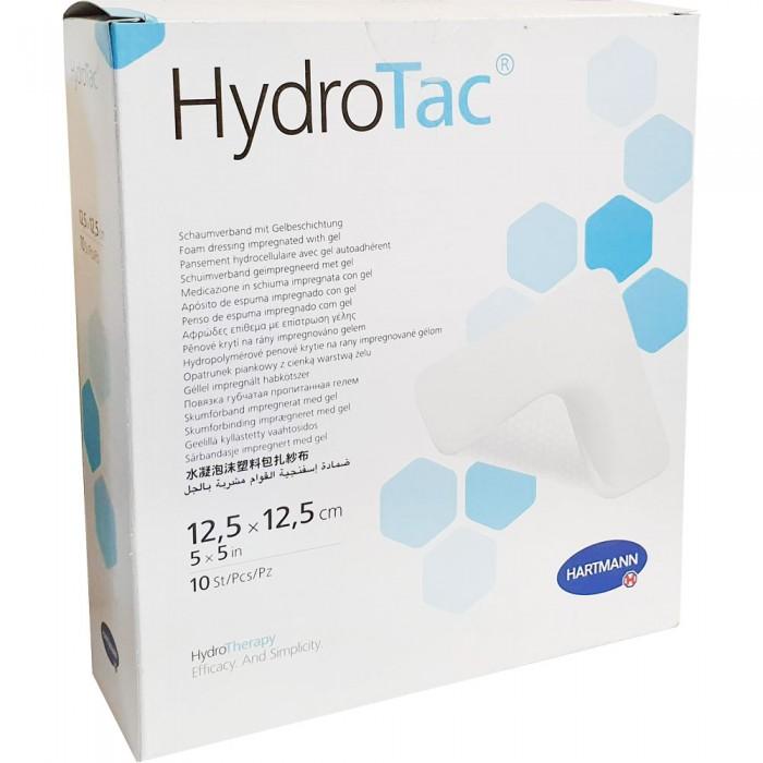 ГидроТак губчатая повязка c гидрогелевым покрытием 12,5 х 12,5 см, 10 шт.