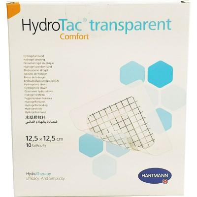 ГидроТак транспарент комфорт гидрогелевая повязка 12,5 х 12,5 см, 10 шт.