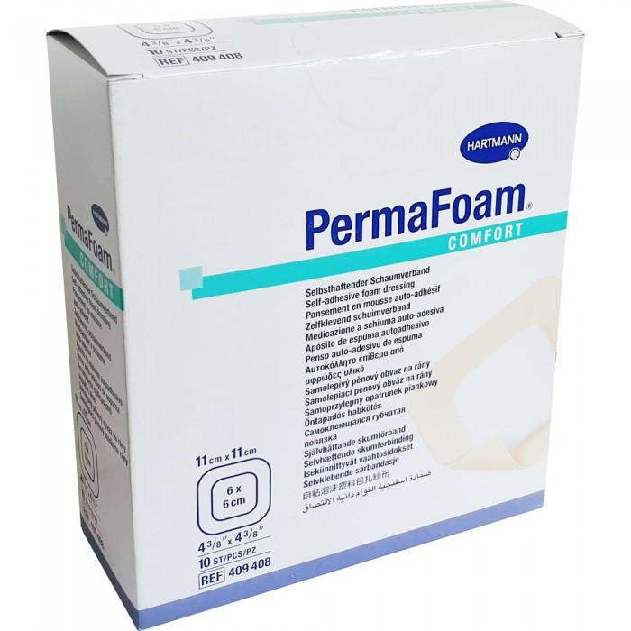 ПемаФом комфорт губчатая повязка 11 х 11 см, 10 шт.