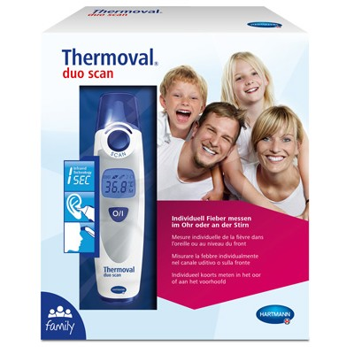Thermoval duo scan инфракрасный медицинский термометр (фотография)