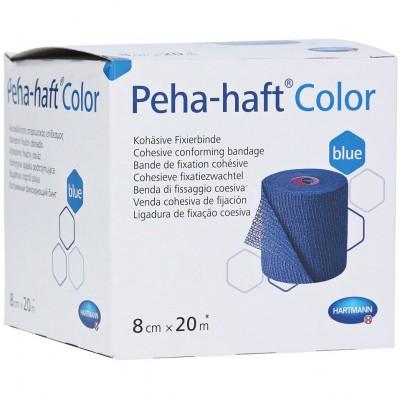 Пеха-Хафт самофиксирующийся бинт 20 м х 8 см, синий (фотография)