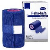 Peha-haft Color самофиксирующиеся бинты, синий, 4 м