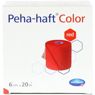 Бинт 20 м х 6 см Пеха-Хафт красный