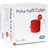Пеха-Хафт самофиксирующийся бинт 20 м х 6 см, красный