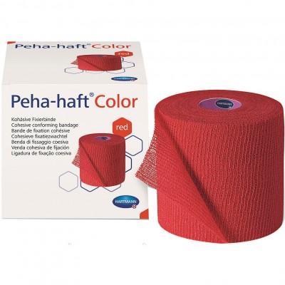 Бинт 20 м Пеха-Хафт красный