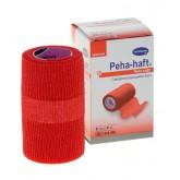 Peha-haft Color самофиксирующиеся бинты, красный, 4 м