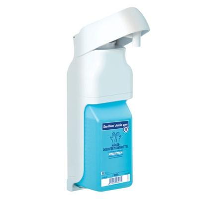 Eurodispenser Vario локтевой дозатор для антисептика и жидкого мыла (фотография)