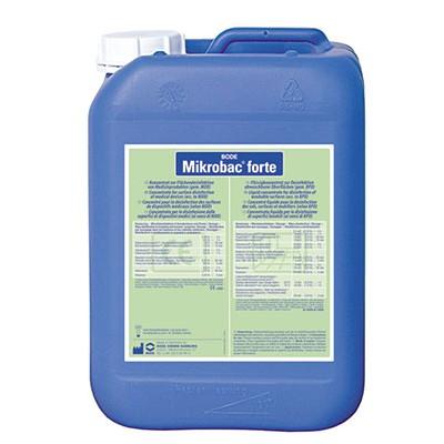 Средство для дезинфекции поверхностей Mikrobac forte в канистре 5 литров