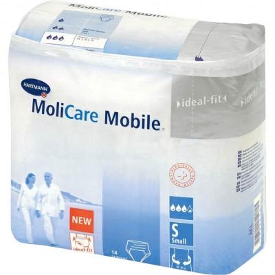 MoliCare Mobile размер S подгузники-трусы для взрослых, 14 шт. (фотография)