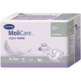 Подгузники для взрослых MoliCare Premium super soft размер M, 30 шт.