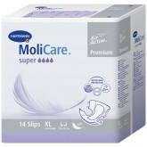 MoliCare Premium super soft размер XL подгузники для взрослых, 14 шт.