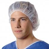 Foliodress cap Comfort Universal шапочка берет одноразовая белая, 100 шт.