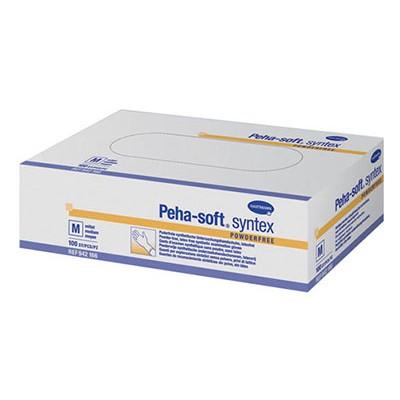 Peha-soft syntex виниловые перчатки, 50 пар (фотография)