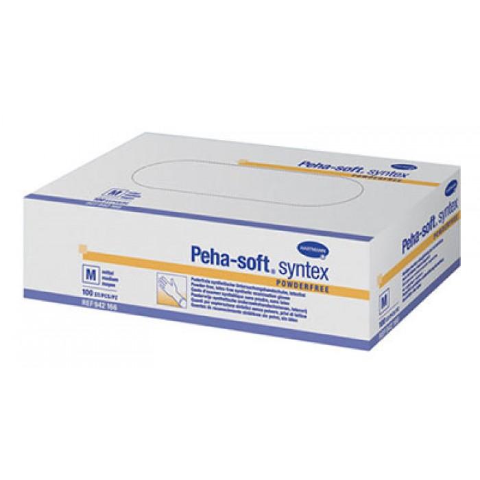 Peha-soft syntex виниловые перчатки, 50 пар