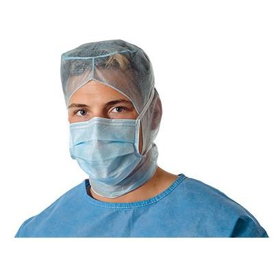 Медицинская маска для хирургов, носящих очки и бороду Foliodress Mask Protect Special