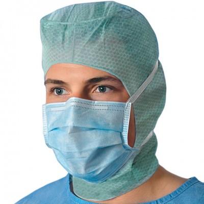 Медицинская маска на завязках Foliodress mask Protect Perfect, 50 шт. (фотография)