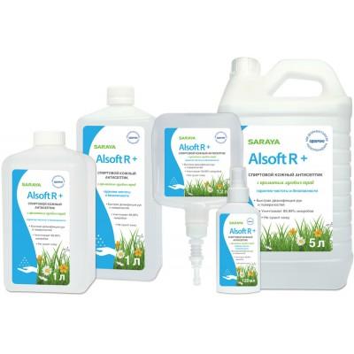 Алсофт Р Плюс кожный антисептик для рук с запахом луговых трав (фотография)