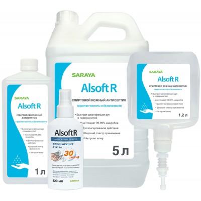 Алсофт Р кожный антисептик для рук (фотография)