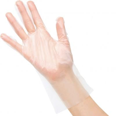Saraya EVA виниловые перчатки, 100 пар (фотография)