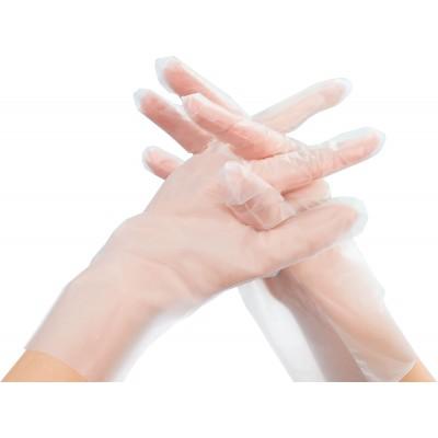 Saraya EVA виниловые перчатки, 100 пар