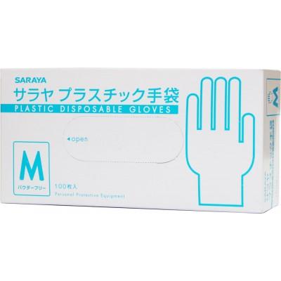 Saraya неопудренные виниловые перчатки
