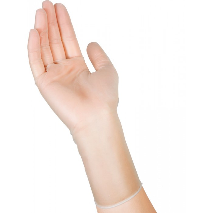 Saraya виниловые перчатки, 50 пар