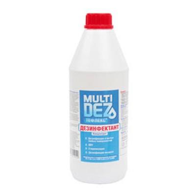 МультиДез концентрат дезинфицирующее средство для поверхностей и инструментов (фотография)