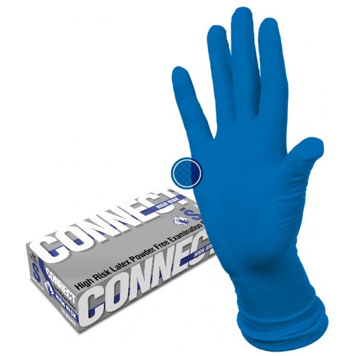 Connect High Risk латексные перчатки повышенной прочности, 25 пар