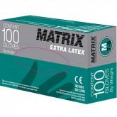 Matrix Extra Latex латексные перчатки неопудренные смотровые, 50 пар