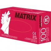 Matrix Pink Nitrile нитриловые перчатки неопудренные смотровые розовые, 50 пар