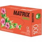 Matrix Vinyl перчатки виниловые неопудренные, 50 пар
