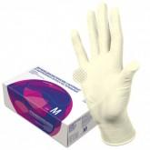 Top Glove латексные перчатки неопудренные смотровые, 50 пар