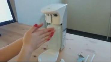 ADS-500/1000 сенсорный дозатор для антисептика и мыла