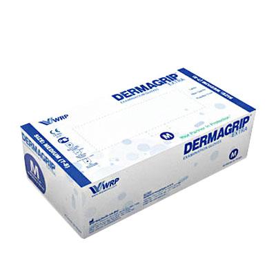 Dermagrip Extra латексные перчатки повышенной прочности, 25 пар (фотография)
