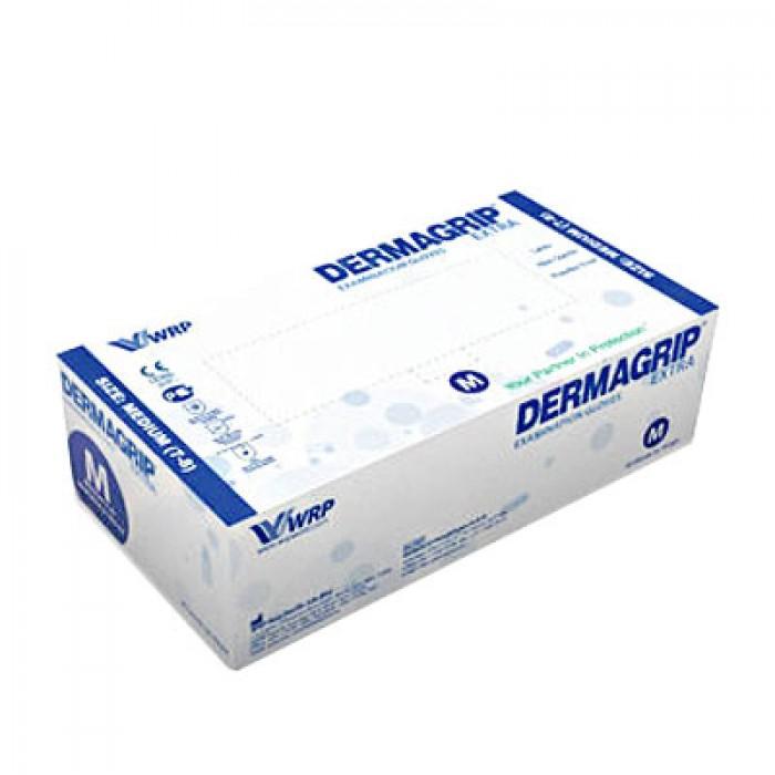 Dermagrip Extra латексные перчатки повышенной прочности, 25 пар