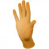 E-DUO Orange универсальные нитриловые перчатки повышенной прочности с удлиненной манжетой, 25 пар
