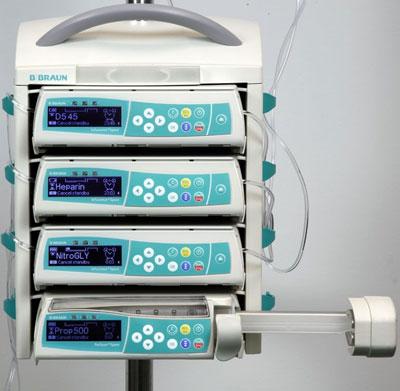 Многоканальная инфузионная система